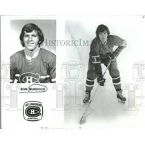 1972 Press Photo Bob Murdoch Montreal Canadiens NHL - RRQ14287
