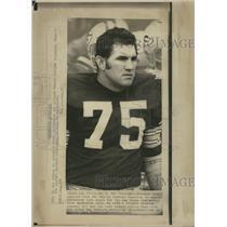 1972 Press Photo FORREST GREGG FOOTBALL DALLAS COWBOYS - RRQ62599