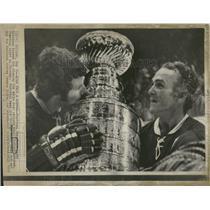 1973 Press Photo Joseph Henri Richard Montreal Canadien - RRQ14707
