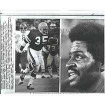 1973 Press Photo Boobie Clark Cincinnati Bengals NFL - RRQ50097