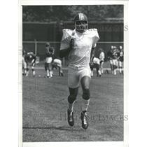 1973 Press Photo Duane Thomas Redskins Halfback Trains - RRQ62597