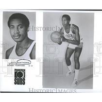 1974 Press Photo Nathaniel Nate Hawthorne Phoenix Suns - RRQ37837