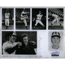 1974 Press Photo John Grubb Randy Jones Padres - RRQ44617