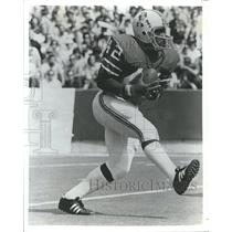 1974 Press Photo Mack Herron American Football Patriots - RRQ62087