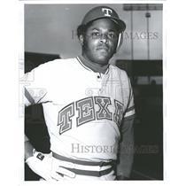 1975 Press Photo Texas Rangers Infielder Dave Nelson - RRQ72671