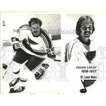 1976 Press Photo Chuck Lefley - RRQ14975