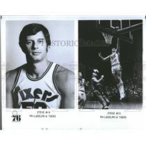 1976 Press Photo Philadelphia 76ers Player Profile Mix - RRQ55899