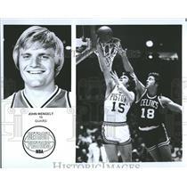 1976 Press Photo John Mengelt Detroit Pistons - RRQ64875