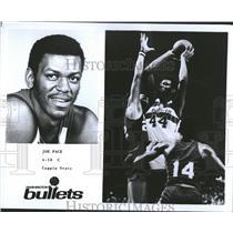 1976 Press Photo Retired Washington Bullet, Joe Pace - RRQ65723