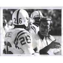 1976 Press Photo Baltimore Colts Rehire Coach Ted March - RRQ66435