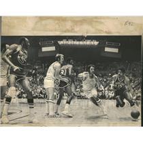1977 Press Photo Don Kojis Joe Ellis Don Smith Seattle - RRQ58829
