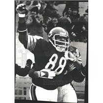 1977 Press Photo Chicago Bears Tight End Greg Latta - RRQ61719