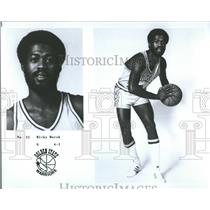 1977 Press Photo Clifton Ricky Marsh Golden State NBA - RRQ65791