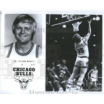 1977 Press Photo Bulls No. 15 John Mengelt - RRQ65945