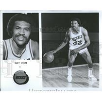 1978 Press Photo Rudy White Seattle SuperSonics - RRQ32167