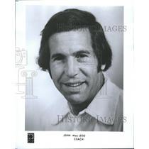 1978 Press Photo Basketball Coach John MacLeod - RRQ55407