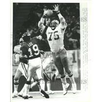 1978 Press Photo Minnesota Viking Quarterback Bob Lee - RRQ63583