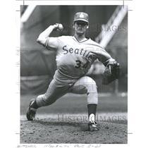 1978 Press Photo Seattle Mariners Paul Mitchell - RRQ72647