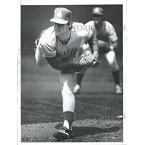 1978 Press Photo Seattle Mariners Pitcher Paul Mitchell - RRQ72649