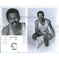 1979 Press Photo Golden State Warriors Guard Lucas - RRQ55863