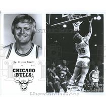 1979 Press Photo Chicago Bulls Player Mengelt Profile - RRQ55907