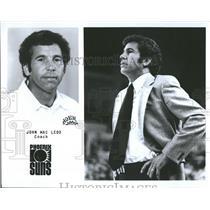 1979 Press Photo Coach John Macleod Phoenix Suns - RRQ55979