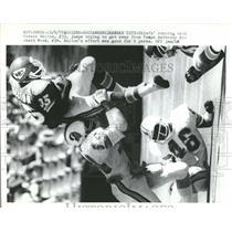 1979 Press Photo Belton Wood Chiefs Buccaneers - RRQ64849