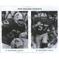 1979 Press Photo New England Patriots Steven Lee Nelson American football