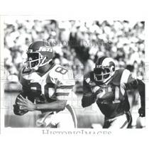 1980 Press Photo New York Jets Johnny Jones Richard Tod - RRQ66135