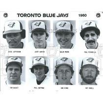 1980 Press Photo Toronto Blue Jays Baseball Team - RRQ68761