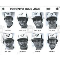1980 Press Photo Toronto Blue Jays starting line up for 1980 - RRQ68765