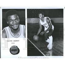 1981 Press Photo Houston Rockets Calvin Murphy - RRQ55825
