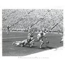 1981 Press Photo Ron Jessie NFL Los Angeles Rams Wide Receiver - RRQ68747