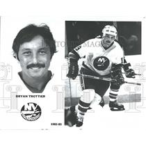 1982 Press Photo Bryan John Trottier Ice Hockey Season - RRQ41589