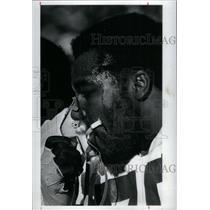 1982 Press Photo Robert Hardy Seattle Seahawks - RRQ43973