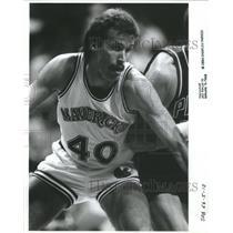 1984 Press Photo Kurt Nimphius American National Basket - RRQ67921