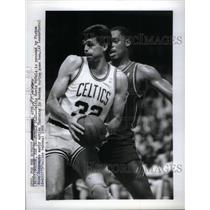 1988 Press Photo Kevin Mchale Basketball Player Coach - RRQ43283