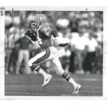 1988 Press Photo Denver Broncos 49 ers Football Ricky N - RRQ55873