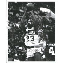 1988 Press Photo #23 Wayman Tisdale Indiana Pacers - RRQ67235