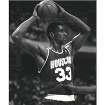 1989 Press Photo Otis Thorpe Houston Rockets - RRQ35829