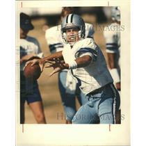 1989 Press Photo Steve Walsh American Football - RRQ62585