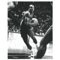 1989 Press Photo Ken Norman Los Angeles Clippers - RRQ67935
