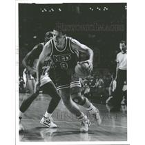 1991 Press Photo Dragzen Petrovic (New Jersey Nets) - RRQ40337