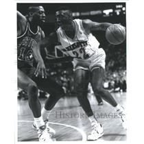 1991 Press Photo Johnny Newman American professional ba - RRQ67931