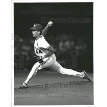 1991 Press Photo Chris Carpenter pitcher Major League Baseball St Louis Cardinal