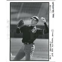 1993 Press Photo John Olerud Toronto Blue Jays Baseball - RRQ11841
