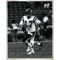 1993 Press Photo John Friesz San Diego Chargers - RRQ43971