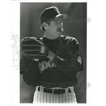 1993 Press Photo Bryn Smith professional baseball player Major League Expo ERA