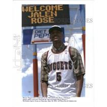 1994 Press Photo Jalen Rose at Denver's McNichols Sport - RRQ34143
