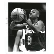 1994 Press Photo Nick Van Exel LA Lakers - RRQ35843